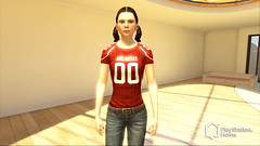 PlayStation Home NCAA FB screen5