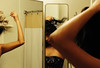 Every woman has different sides (Giovanni Gori) Tags: california vacation portrait woman holiday bathroom mirror donna losangeles glamour nikon makeup beverlyhills latina ritratto ragazza specchio trucco d700 nikkor2470mmf28g giovannigori