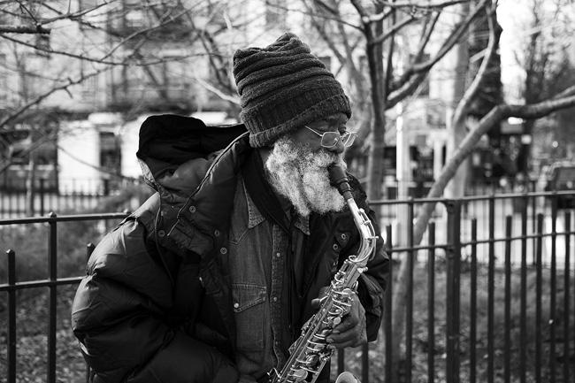 Giuseppi Logan, Tompkins Square Park