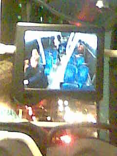 bus self portrait