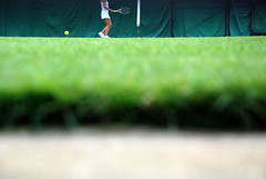 a glimpse of wimbledon 2009 (Clive R Smith) Tags: summer england london grass tennis wimbledon seenonflickr