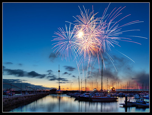 Fireworks in Whitehaven