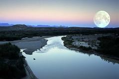 Rio Grande moonrise