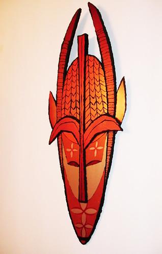 Tiki Devil Mask
