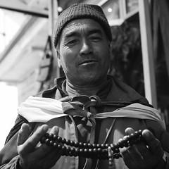 Buddhist Monk, Leh. (ndnbrunei) Tags: blackandwhite bw india 120 6x6 tlr film rolleiflex mediumformat square kodak bn mf kodakbw400cn rolleiflex28f xenar buddhistmonk bw400cn classicblackwhite analoguephotography autaut rolleigallery ndnbrunei jamuandkashmir northwesternindia