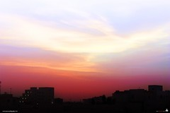 twilight (erickespinosa) Tags: sunset red sky clouds dawn twilight bloody doha qatar forbrinx brinxissunset