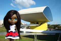 Museu Oscar Niemeyer (Oscar Niemeyer Museum - Curitiba/Paraná/Brasil