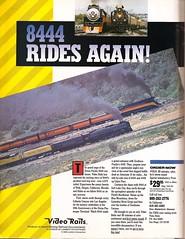 UP 8444 / SP 4449 (mod as hell) Tags: 1989 1980sads sp4449 trainsmagazine up8444