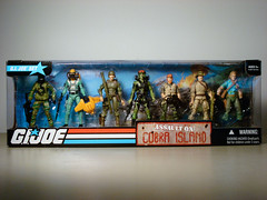 G.I. Joe: Assault on Cobra Island  Boxed Front (BurningAstronaut) Tags: trooper modern real gijoe toy soldier cobra desert action navy joe american jungle seal hero figure era online bazooka outback agent boxed exclusive officer gi wetsuit undercover zap hitandrun paratrooper specialist undercoveragent realamericanh