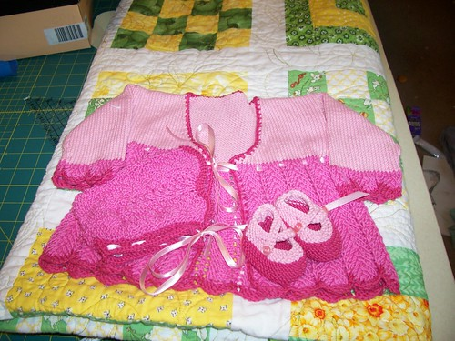 Pink Layette included