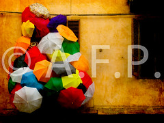 **** colourful umbrellas (.al) Tags: italy horizontal wall architecture umbrella outdoors photography day nopeople safety piemonte getty multicolored protection cuneo piedmont variation gettyimages coni largegroupofobjects pimont alexandrefundone flickrselect flickrselectcollection gettyimageslicensedphoto