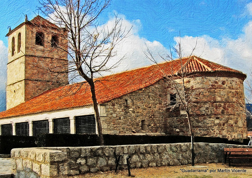 Antigua iglesia de Guadarrama