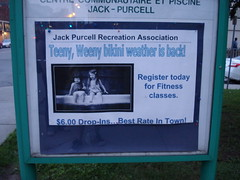 Mr. Jack Purcell, that's not appropriate (nyxie) Tags: sign ottawa fail jackpurcell teenyweenybikini