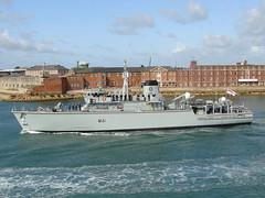 HMS Quorn (M41) - Hunt Class Mine Countermeasure (andyc20050) Tags: boat ship harbour solent portsmouth warship minesweeper royalnavy m41 vosperthornycroft minehunter hmsquorn huntclass