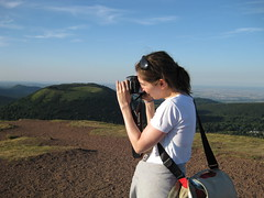 Me Photographing Puy-de-Dome