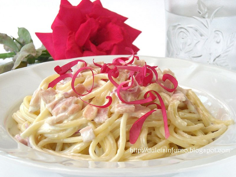 Spaghetti alle Rose