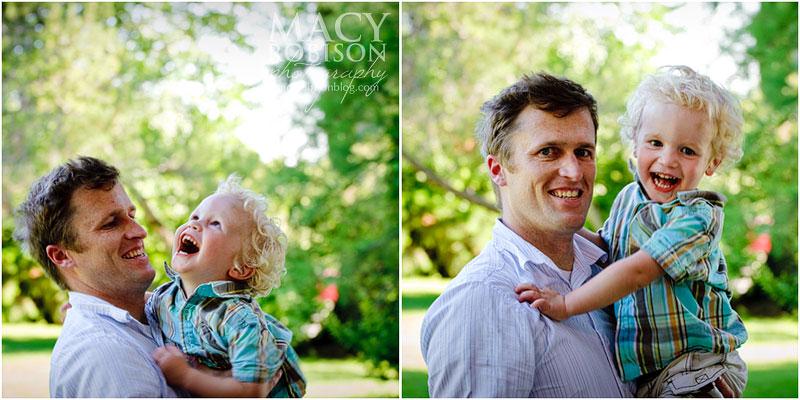 Dad & V.