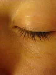 144 of 365 (princess5exyface) Tags: selfportrait eye eyelash 365 closedeye 365days