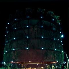 Ya están aquí... (Andrés Medina) Tags: madrid city longexposure 120 6x6 tlr film architecture night analog mediumformat spain arquitectura mood technology tripod atmosphere structure future scifi mysterious fujifilm fujichrome yashica rvp100f futuristic urbanlandscape ovni tecnologia yashicamat124g velvia100f vallecas ensanche contemporarylandscape bioclimático autaut ecosistemaurbano ecobulevar arboldeaire fujivelvia100frvp paudevallecas andresmedina thenightseries junglaverde