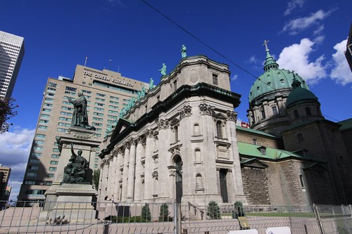 Basilique in Montreal.