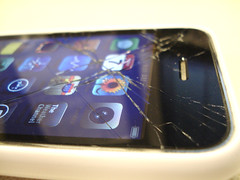 iPhone shattered 2
