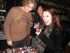 yum  In this photo: Timothy Oliver, Sakiko Sugawara