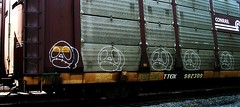 ? (mightyquinninwky) Tags: railroad logo geotagged graffiti moving character tag tracks indiana railway motto tags tagged southernindiana railcar rails characters spraypaint graff graphiti freight rolling onthemove gravel trainyard inmotion carcarrier conrail trainart autorack holyroller ttx paintedtrain freightyard railart spraypaintart taggedtrain conrailquality evansvilleindiana ttgx movingfreight howellarea paintedrailcar taggedrailcar geo:lon=87614025 geo:lat=37956938 11223344556677 carfireonflickr charactersformyspacestation