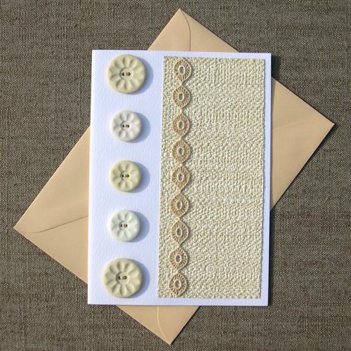One more Tweed Card (Nog één Tweed Kaart) por Made by BeaG.