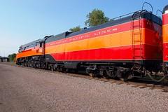 Southern Pacific Railroad No. 4449, Minnesota, Minneapolis (3,510e) (EC Leatherberry) Tags: railroad minnesota steam locomotive tender excursion southernpacificlines