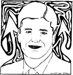 Sean Hannity Maze Portrait