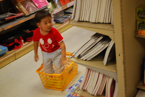 Kid in a Basket