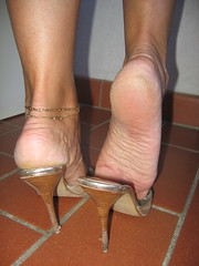 Ruined heels (al_garcia) Tags: feet high sandals heels smelly