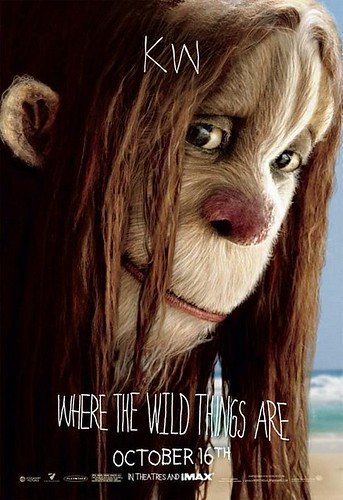 Where The Wild Things Are Character Poster KW