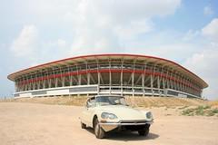 Estadio Nueva Condomina. Murcia (PRINCIPEDESALINA) Tags: spain citroen ds murcia estadio futbol citroends