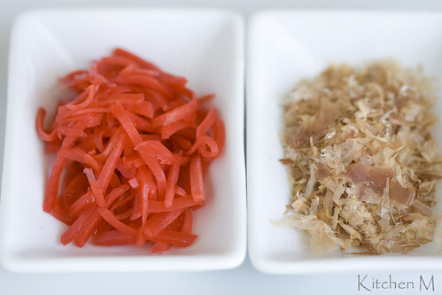 Pickled Ginger & Bonito Flakes