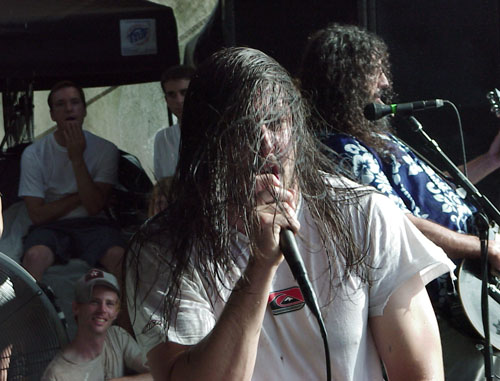 Andrew WK Warped Tour 2003
