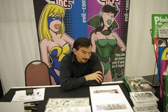 Brad Guigar (CaptainV45) Tags: brad comic pittsburgh vince evil whiskey falls comicon inc ohno guigar logreco