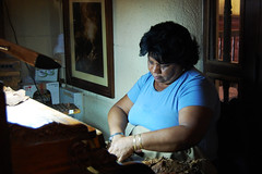 Havana, Partagas factory (robseye76) Tags: vacation holiday havana cuba cigars kuba wakacje cigarwoman partagasfactory