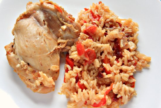 Chipotle Chicken n' Rice header