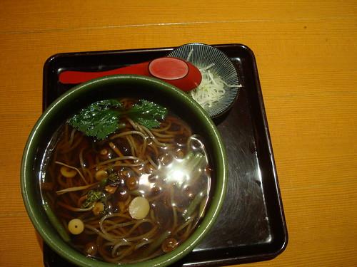 Soba in Sapporo