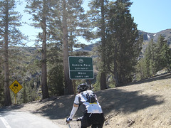 Arriving at Sonora Pass (from west side)