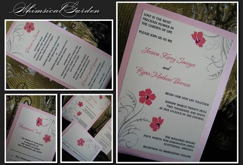 Whimsical Garden Invitation
