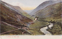 Pitlochry, Looking Up Glen Tilt 1908