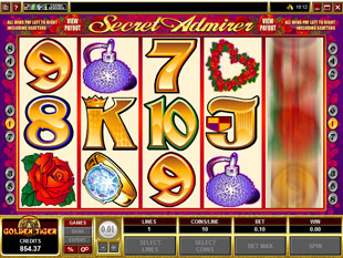 Secret Admirer slot game online review