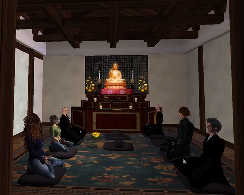 Five Mountain Zendo - Interior