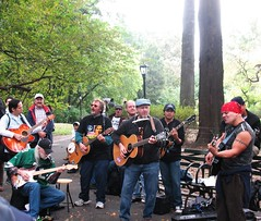 Band Singing Beatles' Songs in Central Park (aprilbaby) Tags: nyc newyorkcity travel musicians manhattan october9 beatlessongs johnlennonbirthday