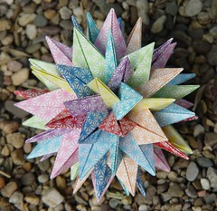 RSTUVWXYZ Star von Meenakshi Mukerji (Tagfalter) Tags: origami modular planar