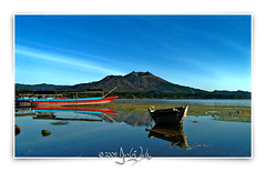 my village (Jamie ^_^) Tags: morning bali lake sunrise indonesia lakebatur batur kintamani