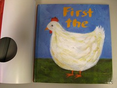 First the Egg by Laura Vaccaro Seeger with Jacket removed