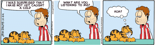 Garfield: Lost in Translation, October 24, 2009